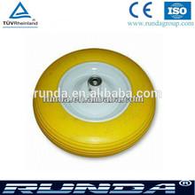 polyurethane material solid wheel