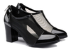 Sexy black fashion womens shoes high heel
