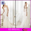 2014 New Fashion Mermaid Strapless Embroidered Beaded Bridal Dresses in Karachi