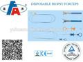 Flexible 1.8mm pinzas de biopsia desechable con aguja flexible para el laringoscopio