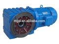eléctrica helicoidal de reducción de caja de cambios de motor de corriente continua