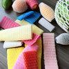 colorful fruit foam net