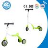 2 in 1 mini scooter 3 wheel trike scooter bike for kids multi-function kick scooter