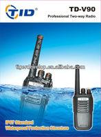 TD-V90 military waterproof handheld name brand radio