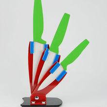 "High quality 5"" zirconia ceramic coating kitchen knife"