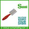 [Sunni]New design metal dog & slicker double sided brush for animals