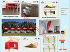 3x3m/3x4.5m/4x4m/3x6m/4x8m 2014 New Hot Summer Sunproof Promotion Flag Tent