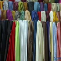 polyester bright satin fabric