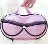 2014 ladies fashion bra case clothes travel portable bra storage bag