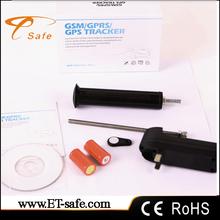 Cheap sim card bicyle portable black gps tracker, easy to install with web platform