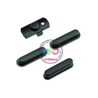 Full buttons for iPad Mini Side Keys - Black - 1 Set with 4 pcs