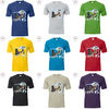 Customized printing cheap printed t shirts/wholesale short t shirt /silk screen printing t shirt