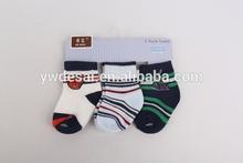 2014 arriva un nuovo logo personalizzato knited ragazzi calzino di cotone ingrosso