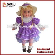 venda quente do brinquedo do diálogo 2014 nova boneca baby alive