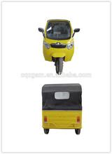 three wheel motorcycle taxi/bajaj CNG three wheeler/passenger tricycle