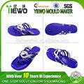2014 nuevo diseño de pvc jalea de zapatos de suela de zapato del molde