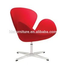 swan chair ,fabric chair