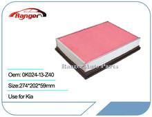 Car Air Filter 0K024-13-Z40 for KIA Retona/ Sportage