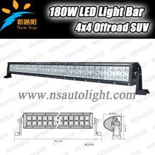 Tope quality Hot sale 31.5inch 180W 12V/24V Waterproof IP67 Led Lights 4x4 Led Driving Light Bar CE verified 180w 60pcs 3W leds