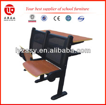 adjustable school school furniture desk and chair high quality lecture hall seating