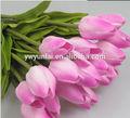 Artificial solo tulipán, de alta calidad de la decoración de la boda de tulipán