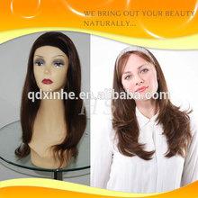 Human Hair Quality Kosher wig Human hair 3/4 Wigs