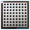 metal construction material aluminum solid panel