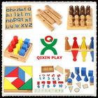 Alibaba china best wood montessori furniture/ preschool child toy/montessori arabic material 160 full set for baby QX-177D