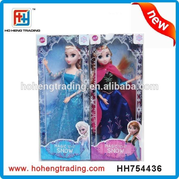 NEW! frozen doll snow queen doll
