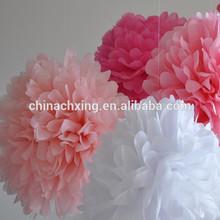 16inch 40cm Fiesta Tissue Paper Pom-Poms Flower Wedding Party decorations for sale