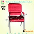 de alta calidad de color rojo de la iglesia utilizado muebles asientos de teatro con los brazos