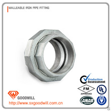 galvanized union rubber expANSIon joint