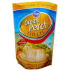 Resealable frozen plastic bag for frozen chicken strips / breast packaging