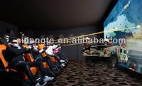 electric/hydraulic 5d 7d cinema entertainment equipment for cinema syetems