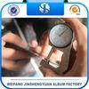 0.5mm balck release film inner page pvc sheet