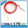 factory wholesale Colorful 3.5mm jack Flat Noodle audio cable
