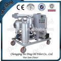 Navio, carros e transporte de outros motor a gasolina de reciclagem de óleo do sistema de filtro