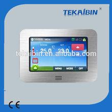 [TEKAIBIN] HT10.16 digital color touch screen programmable wireless thermostat