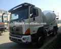 Hino camión mezclador de concreto/9 metros cúbicos de capacidad de mezcla de concreto mezclador de camiones hino 700/8 metros cúbicos de hormigón mezclador de camiones