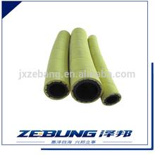 High flexible fiber rubber hose heat resistant