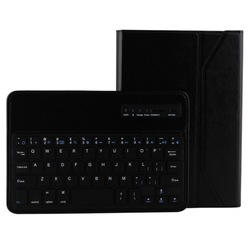 Bluetooth 3.0 ABS Hard Key Keyboard and Crazy Horse Texture Leather Case with Holder for iPad mini 2