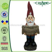 """22"""" Hot Sales Garden Dwarfs Resin Craft Wholesale Gnomes Bird Feeder"""