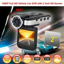 Free sample 2inch IR night vision 1080p car driving recorder w6 1920x1080 video codec