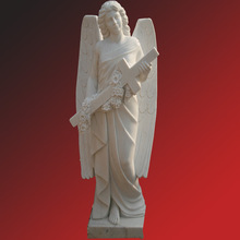 Life-size Girl Angel Marble Statue