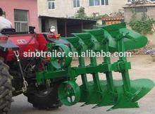 Hydraulic turnover five plough