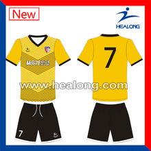 Home/away soccer uniforms, football jerseys
