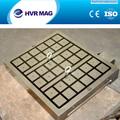 Ronda permanentes plato magnético con imán de neodimio para torno máquinas
