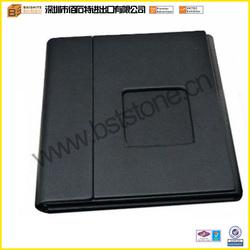 Black Fashion Hot Sale High Quality Elegant Wholesale Leather Single CD Case Custom Fancy CD DVD Case