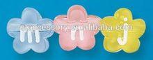 12mm flower alphabet beads