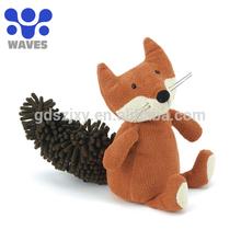 China toys factory custom toy plush squirrel